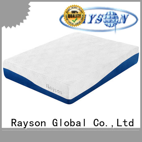 Hot gel memory foam mattress roll Rayson Brand