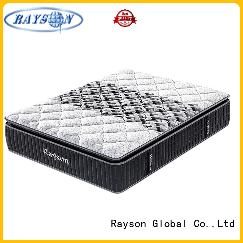 Synwin king size pocket spring mattress king size knitted fabric high density