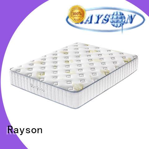 luxury pocket memory mattress knitted fabric high density Rayson