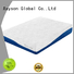 knitted fabric custom memory foam mattress high-end free delivery with pocket spring