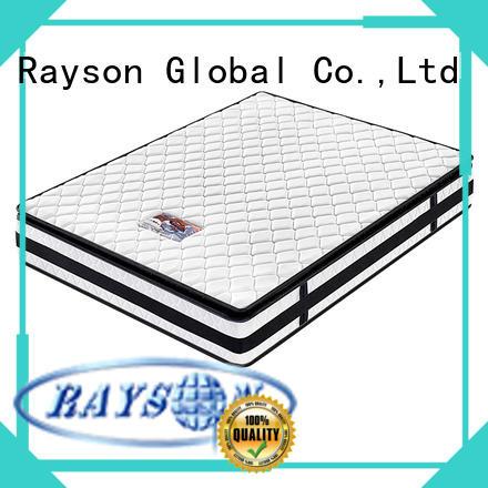 Wholesale cheap hotel pillow top bonnell spring foam mattress