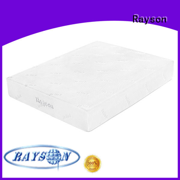 Memory foam roll up wholesale best mattress for back pain knitted fabric