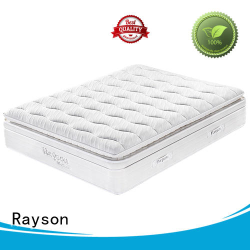 Wholesale tight top rated hotel mattresses luxury Rayson Brand