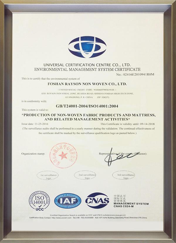 Certyfikacja wnętrzowa