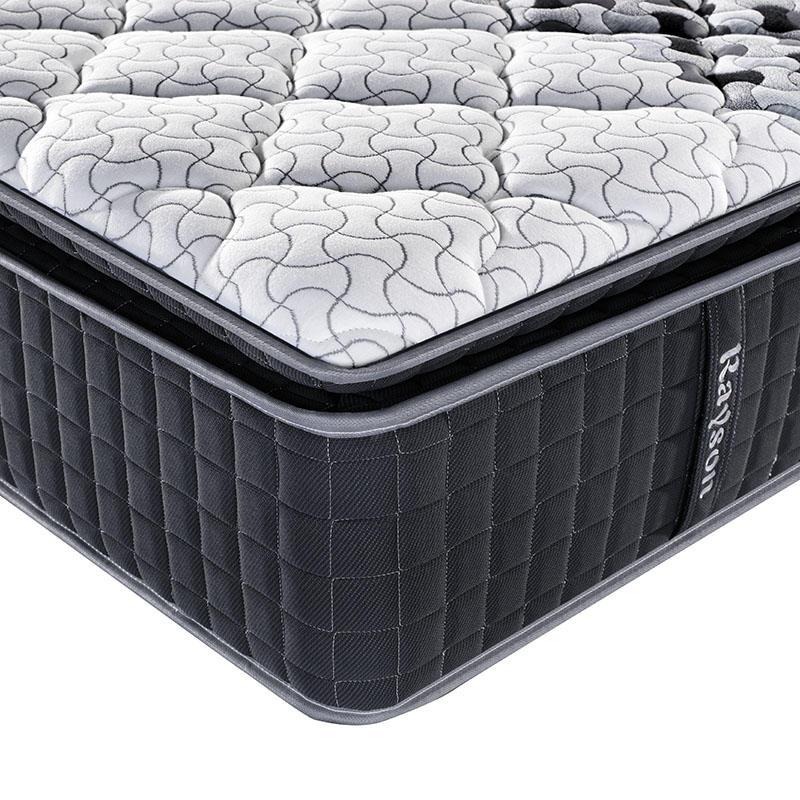 5 Star hotel 3 Zone pocket spring koil mattress 8 inch wholesale