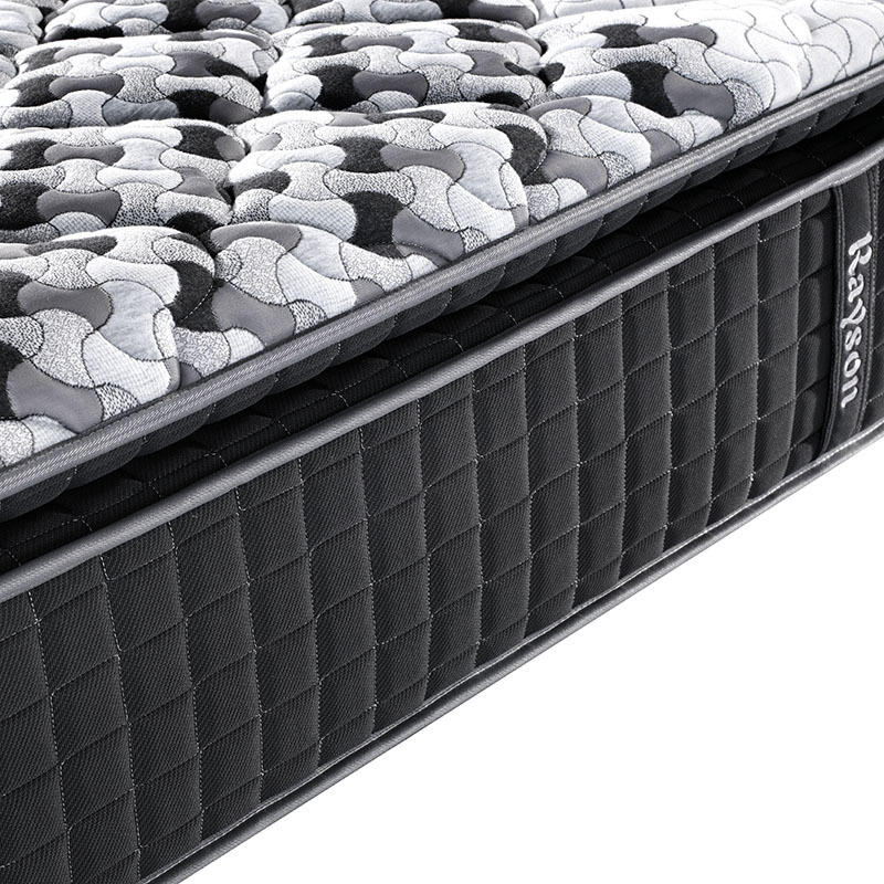 3 zone pillow top hotel gel memory foam pocket spring mattress