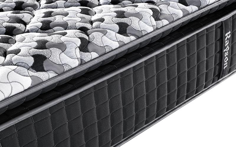 Rayson chic design single pocket sprung mattress knitted fabric high density-12