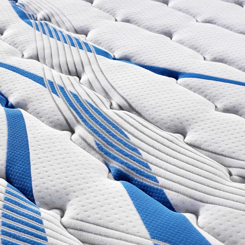 Wholesale medium soft hotel pocket spring mattress memory foam latex