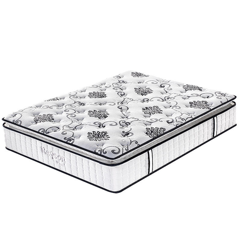 Pillow top 31cm Dubai hotel queen pocket spring mattress