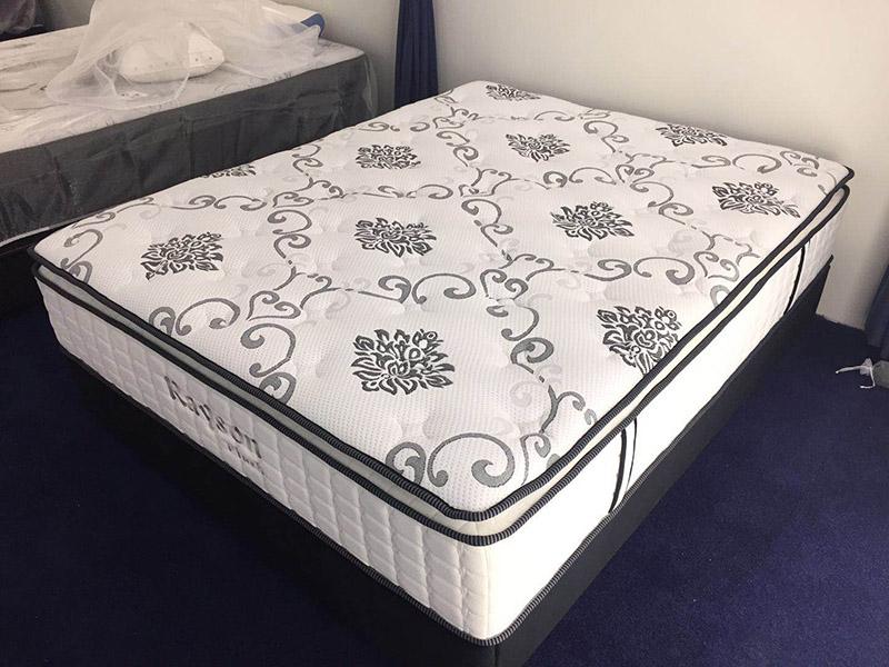 Rayson Mattress-Best Single Pocket Coil Mattress Homehotel Bedroom Furniture Pillow Top