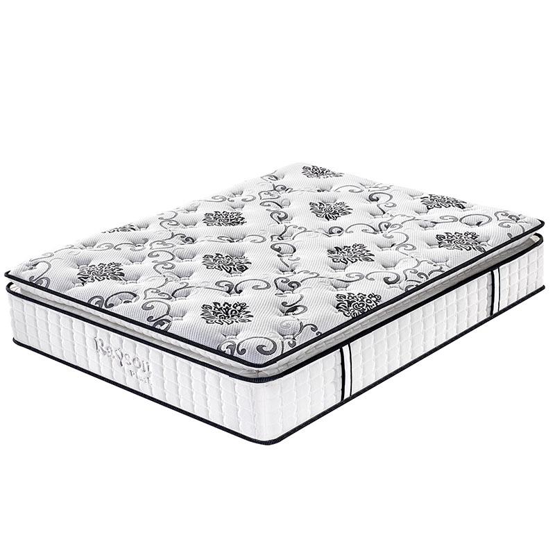 Rayson Mattress-Best Single Pocket Coil Mattress Homehotel Bedroom Furniture Pillow Top-1