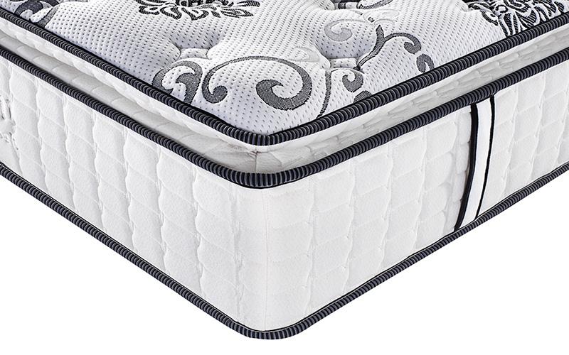 Rayson Mattress-Best Single Pocket Coil Mattress Homehotel Bedroom Furniture Pillow Top-11