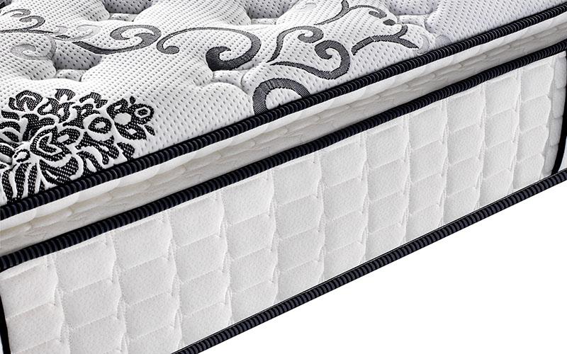 Rayson Mattress-Best Single Pocket Coil Mattress Homehotel Bedroom Furniture Pillow Top-12