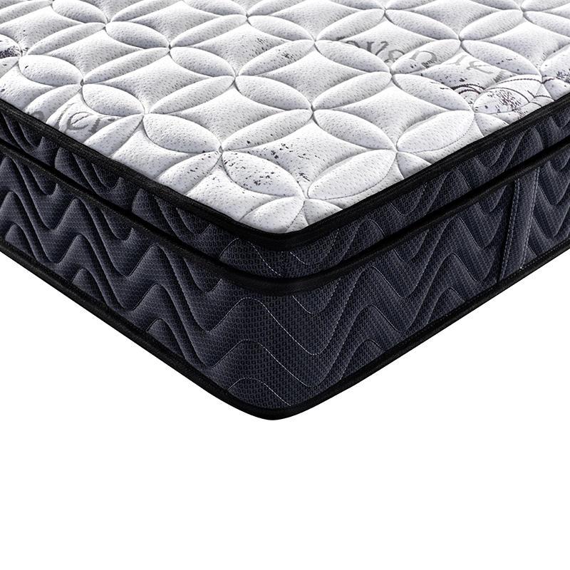 Wholesale medium firm hotel euro top bonnell spring mattress