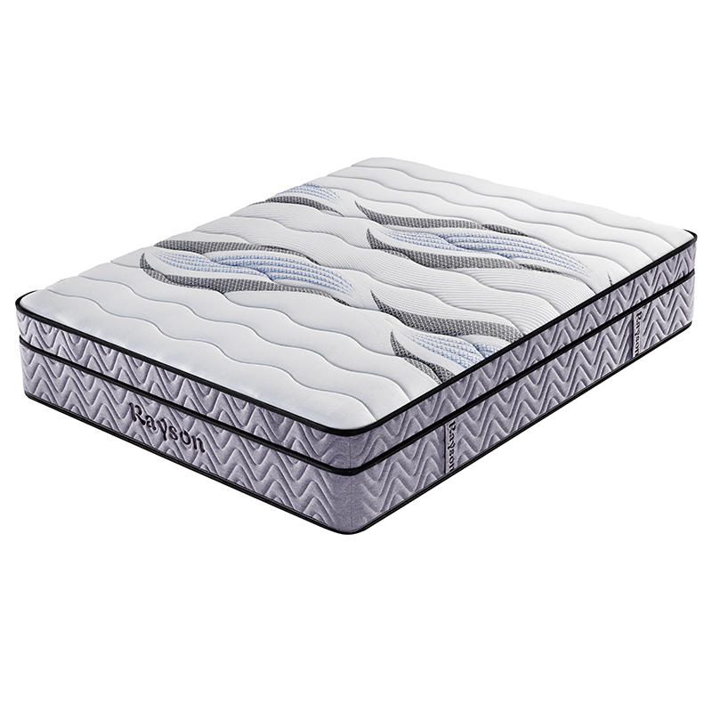 King 5 star hotel bonnell pocket spring euro top mattress wholesale