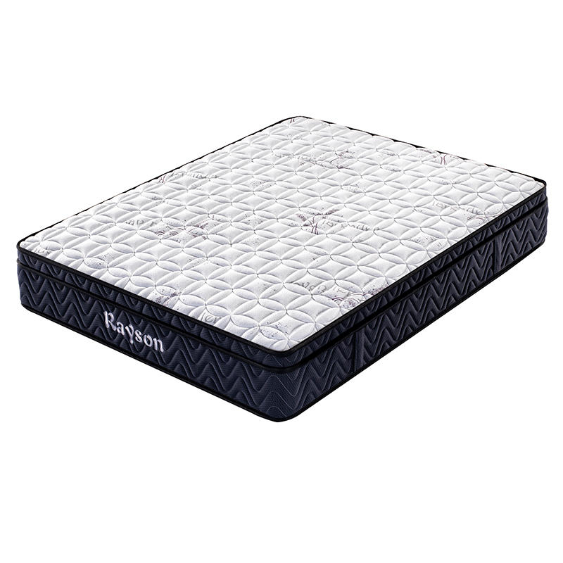 Wholesale medium firm hotel euro top bonnell spring mattress