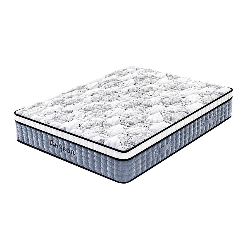 Customized queen size hotel spring mattress manufacturers euro top