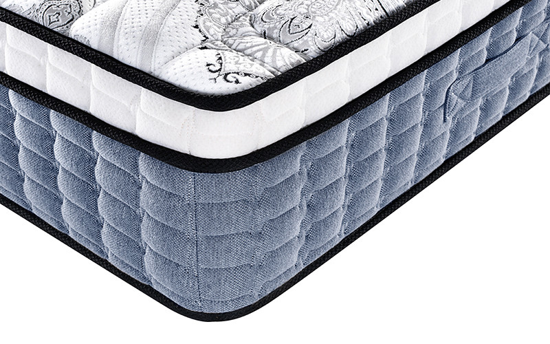 Customized queen size hotel spring mattress manufacturers euro top-10