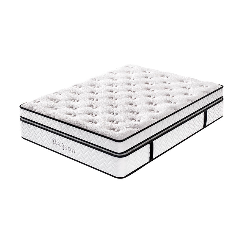 High class hotel compress double pocket spring mattress wholesale