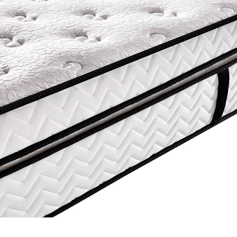 High class hotel compress double pocket spring mattress wholesale