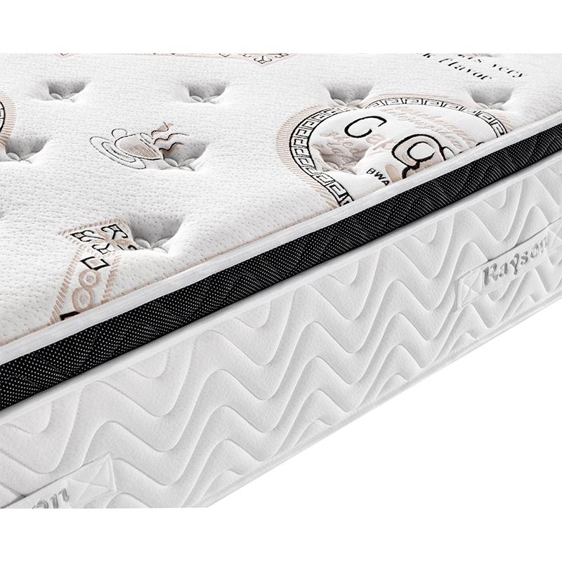 Euro top Latex memory foam spring comfort mattress whole sale