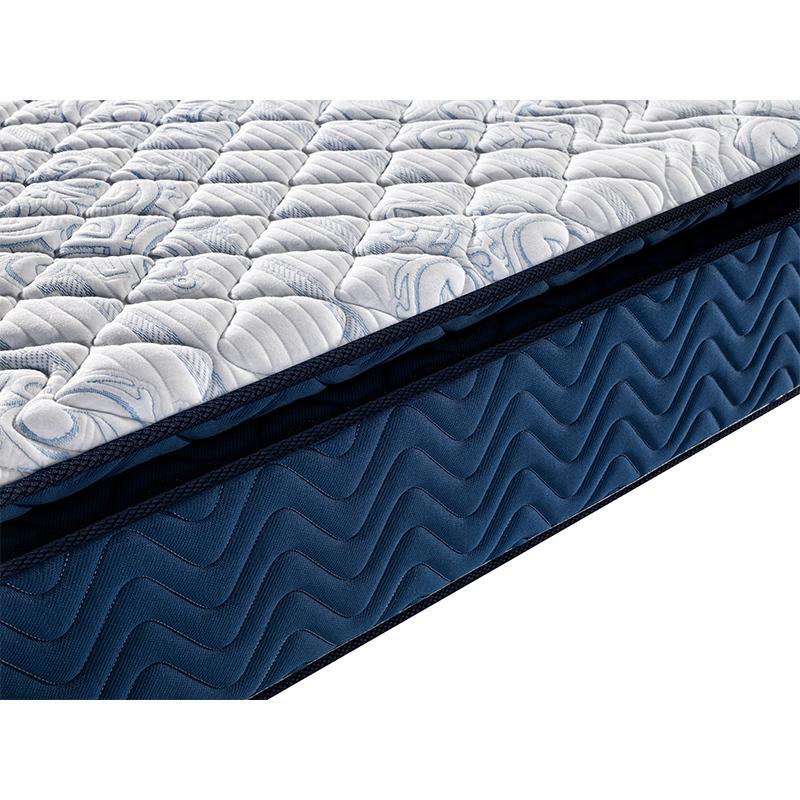 Five star hotel memory foam pocket spring mattress factory latex
