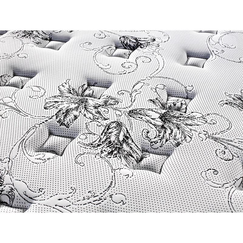 King size euro top foam compress pocket spring mattress wholesale