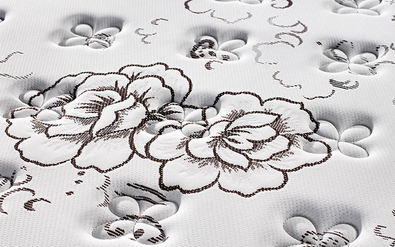 high-quality pocket spring mattress double chic design knitted fabric high density