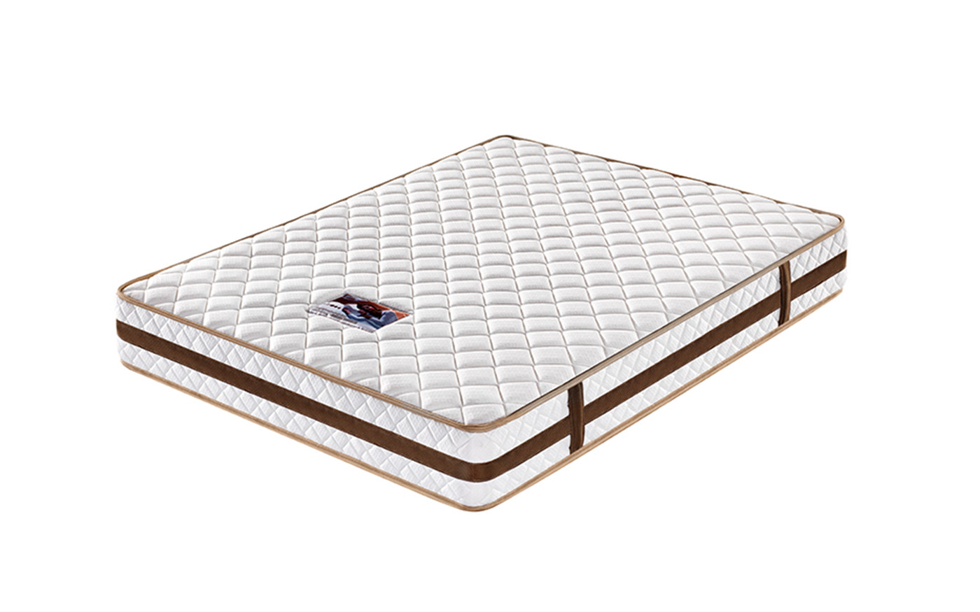 customized pocket mattress king size knitted fabric high density-1