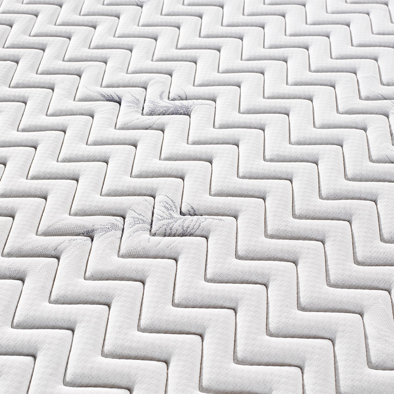 21cm height bonnell spring roll up mattress knitted fabric foam