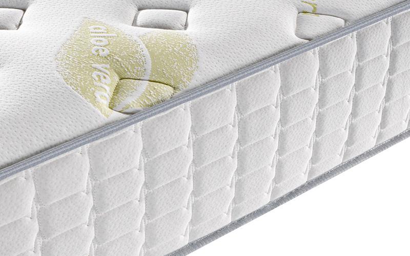 Rayson 25cm height rolled memory foam mattress top-11