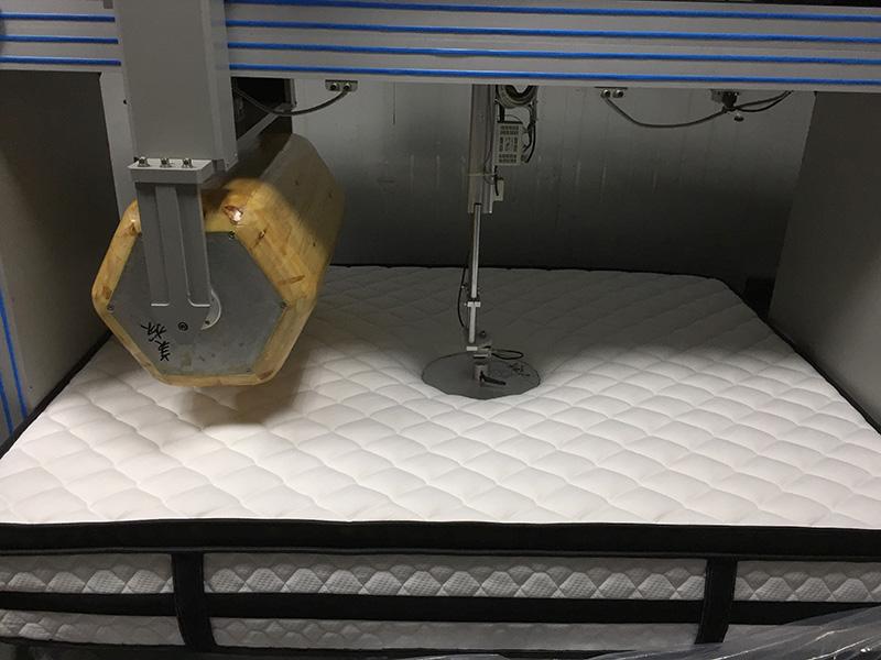Rayson 25cm height rolled memory foam mattress top-13