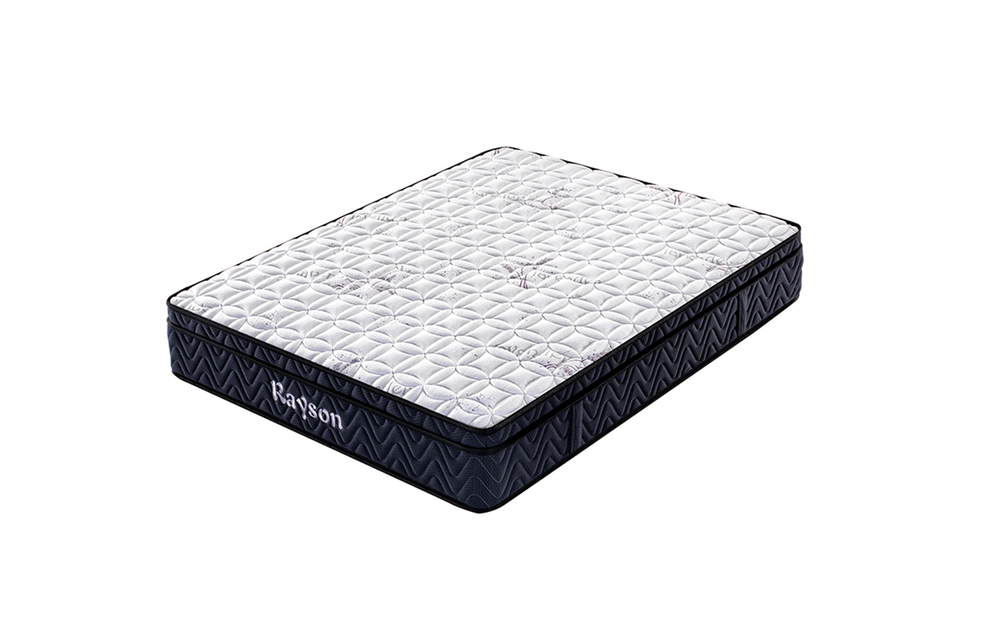 Rayson Mattress-Pocket Sprung Double Mattress With Memory Foam Top | Super Ortho Firm Bonnell