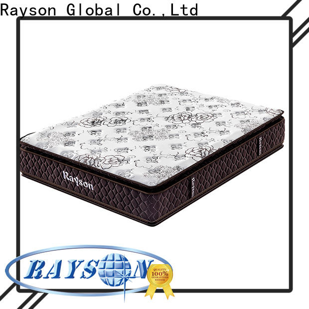 Synwin king size best pocket coil mattress knitted fabric high density