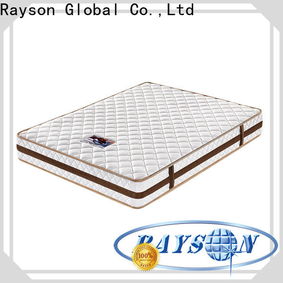 customized pocket mattress king size knitted fabric high density