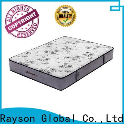 customized pocket sprung mattress king chic design knitted fabric high density