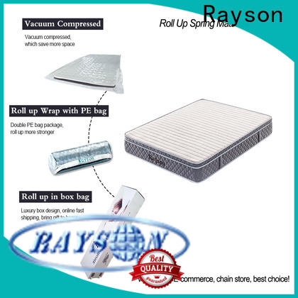Rayson customized vacuum packed memory foam mattress tight for sale