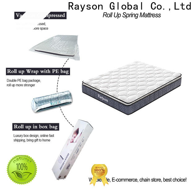 Synwin luxury roll packed mattress at discount with spring