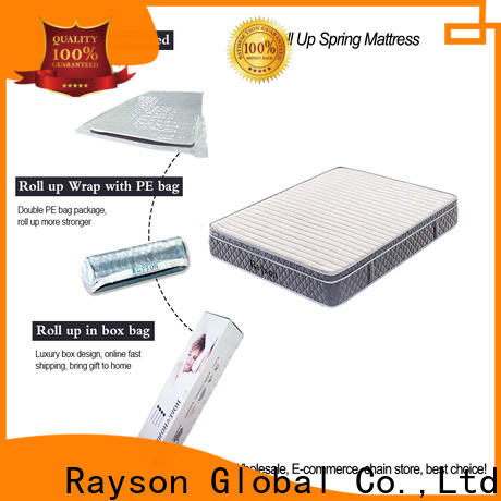 Rayson on-sale mattress rolled up in a box vacuum compressed for customization