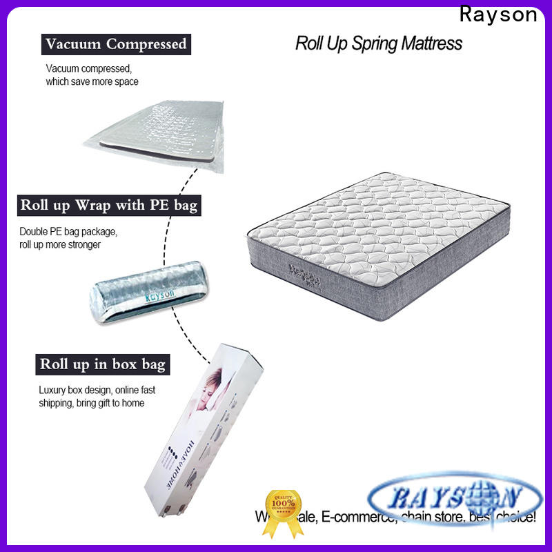 Rayson king size roll up bed mattress top