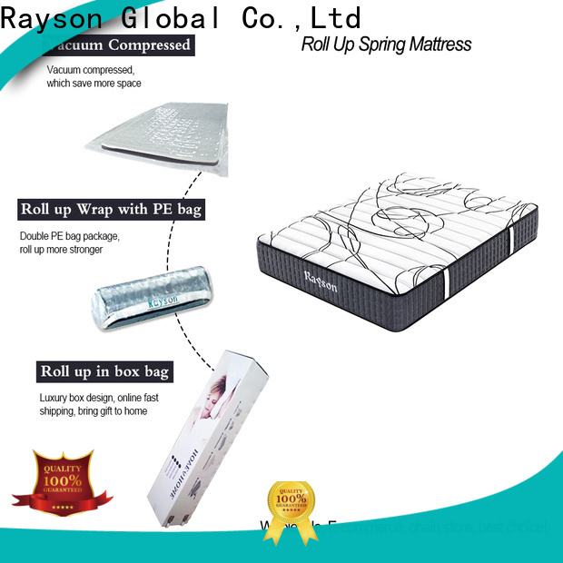 two sides vacuum packed memory foam mattress 25cm height tight for wholesale