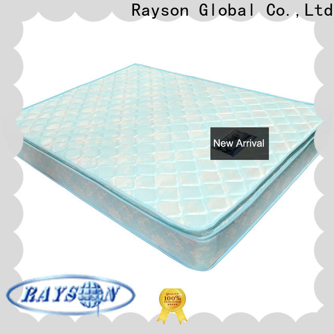 Rayson wholesale spring and memory foam mattress top-selling