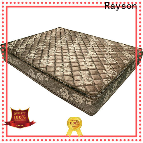 double side spring and memory foam mattress wholesale vacuum high-quality