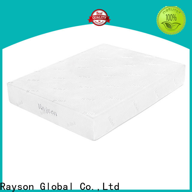 knitted fabric luxury memory foam mattress customized free design for bed