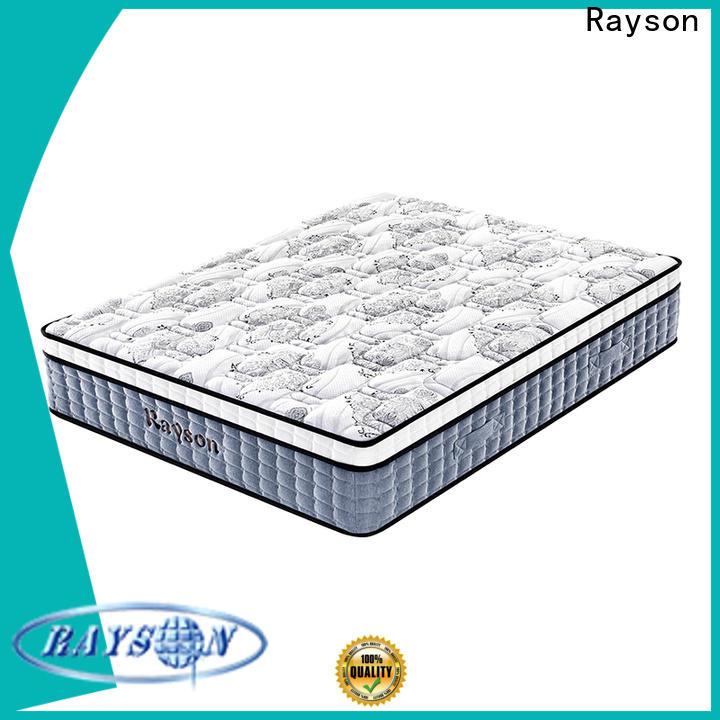 Rayson spring mattress 5 star hotel mattress wholesale bulk order