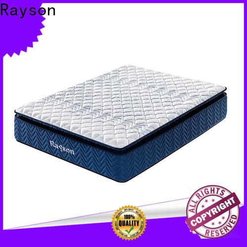 Rayson memory foam hotel mattress brands wholesale bulk order