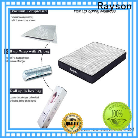 comfortable roll up foam mattress bonnell coil at discount with pillow