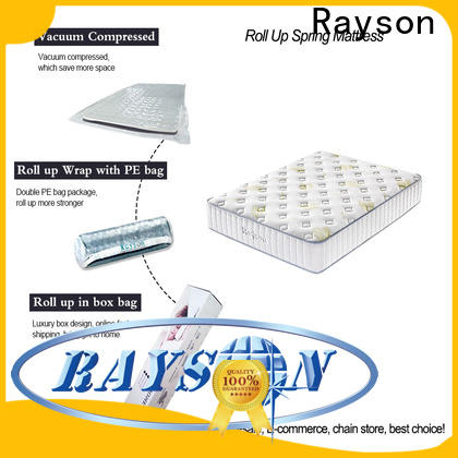 Synwin rolled mattress rolled up in a box vacuum compressed for customization