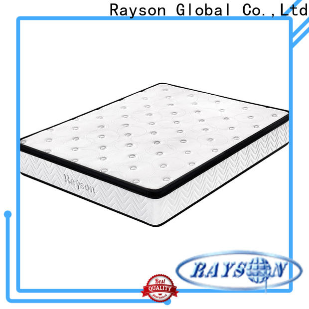 Rayson luxury pocket coil mattress wholesale at discount
