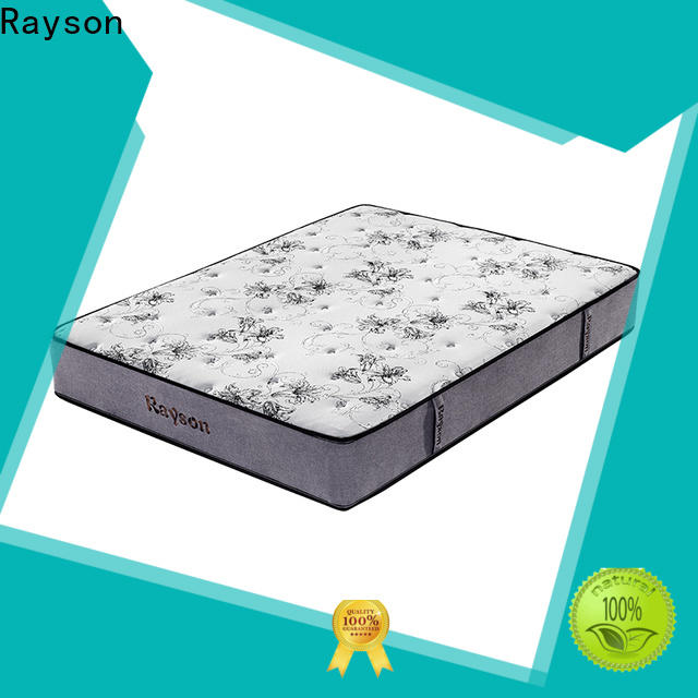 Rayson chic design pocket memory mattress knitted fabric light-weight